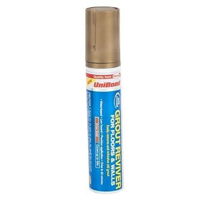 UniBond - Embellecedor y protector de lechada para suelo y paredes (15 ml),