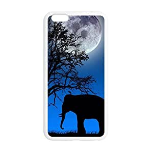 fashion case Beautiful night scenery unique elephant case cover TPX9GfCc5U for iphone 4s""