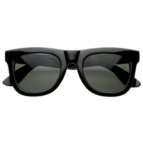 zeroUV - Discount Super Designer Thick Bold Retro Fashion Horn Rimmed Style Sunglasses - Sun Glasses Discount Designer