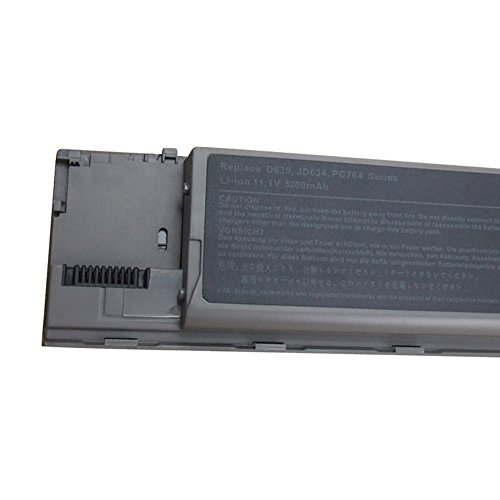 Azure Power Tech New 6 Cell Battery for Dell Latitude D620 D630 D631 D630N D640 PC764 TC030 GD775 by Azure Power Tech (Image #2)