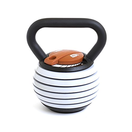 Kettlebell Kings Adjustable Kettlebell, 10 - 40 lb by Kettlebell Kings