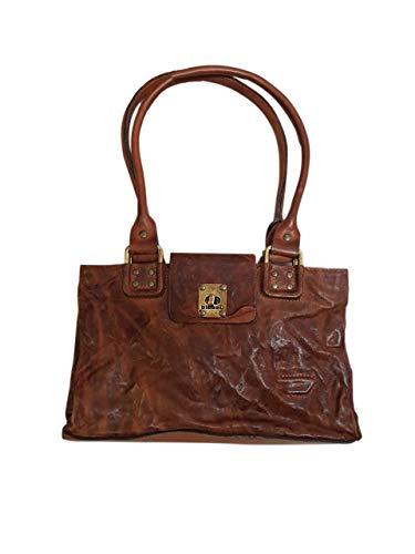 Diesel Handbag 00X649PR959T2249 Hand Luggage, 28 cm, 6 liters, Brown (Braun)