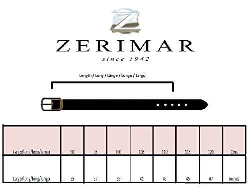 Zerimar Cintura di cuoio abbronzatura morbide Per regolare non si indurisce. Per impedire il furto Altezza 3.5 cms Venta Barata Almacenista Geniue Compras En Línea Barato ZGiH0