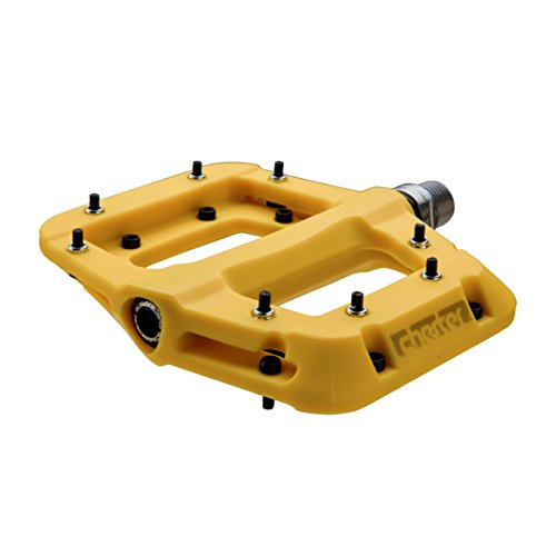 RaceFace Chester Pedal Yellow, One Size by RaceFace
