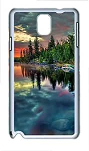 Samsung Galaxy Note 3 N9000 Case,Clouds reflection PC Hard Plastic Case for Samsung Galaxy Note 3 N9000 Whtie