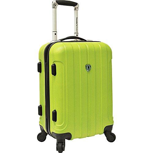 travelers-choice-cambridge-hardsided-spinner-luggage-20-green