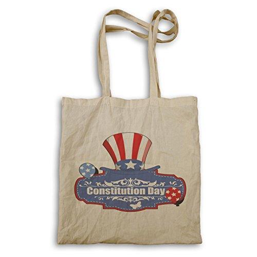Ich liebe dich USA Amerika-Konstitution-TagesVintage Kunst Tragetasche a152r