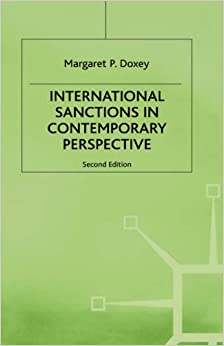 Interntional Sanctions in Contemporary Perspective