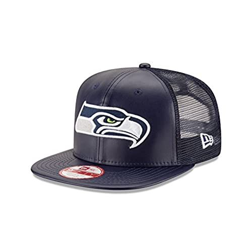 9c7f11eefd3 ... shopping nfl seattle seahawks team sleek trucker 9fifty cap one size  blue f8875 43955