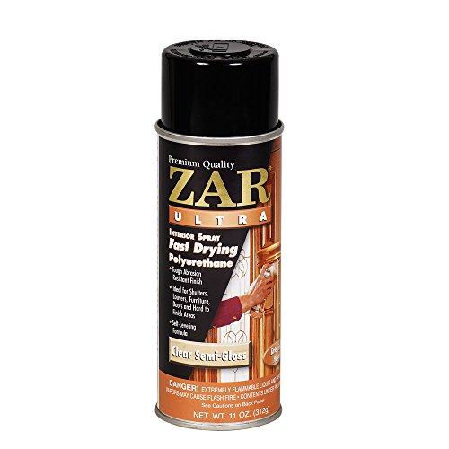 ZAR 33007 Semi Gloss Ultra Interior Polyurethane, 11-Ounce ()