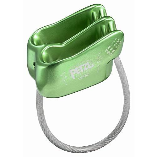 Petzl Verso Belay/Rappel Device Green ONESIZE ()