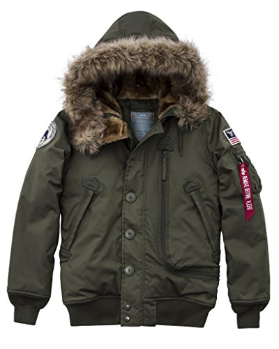 Alpha Industries Svl Green Jacket Wmn Polar Dark BvxwB