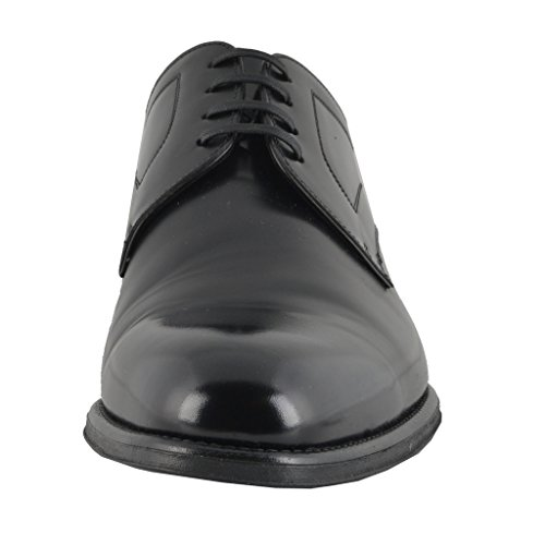 Dolce & Gabbana Hombres Zapatos De Cuero Oxfords Negros