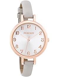 Ferenzi Women's FZ15501 Analog Quartz Grey Watch