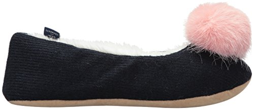 Marine French Joules Bleu Navy Chaussons Femme Slippoms Bleu YrYIw