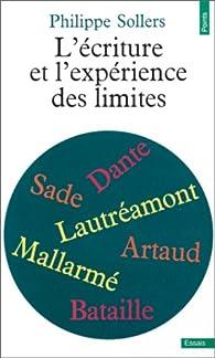 L'Ecriture et 'L'Expérience des limites' par Philippe Sollers