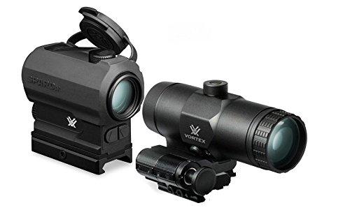 Bundle - Vortex SPARC AR Red Dot Rifle Scope w/ Vortex Vortex VMX-3T Magnifier by Vortex Optics