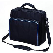 Funda de transporte para PlayStation , resistente y duradera bolsa de viaje de nailon portátil de tafetán para PS4, PS4 Slim y PS4 Pro # 81050