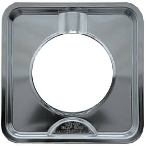 Range Kleen SGP400 Style I Square Heavy Duty Drip Pan, Chrome