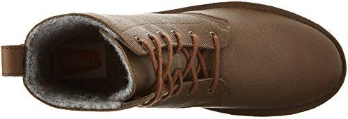 Boot Maru Leather Women's Elsa Combat Clarks Khaki wpn6qICa