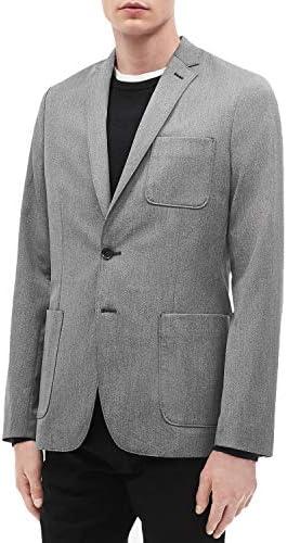 Calvin Klein 남성용 슬림핏 패치 포켓 블레이저 / Calvin Klein 남성용 슬림핏 패치 포켓 블레이저