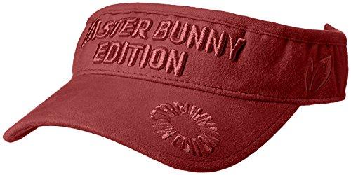 (マスターバニー バイ パーリーゲイツ) MASTER BUNNY by PEARLY GATES [ 男女兼用 ] 起毛 ロゴ入り バイザー (サイズ調整可能) 158-7287904