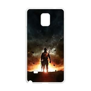 Battlefield 4 Explosión Juego EA Digital Illusions CE Nota caja del teléfono celular 4 92996 Samsung Galaxy funda blanca del teléfono celular Funda Cubierta EEECBCAAH74824