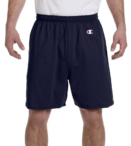 Champion Men's  6-Inch Navy   Cotton Jersey Shorts - - Outlets Marketplace At The