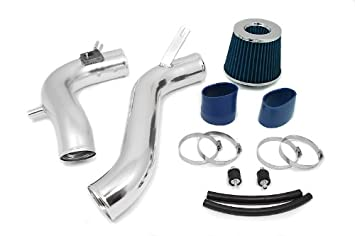 Filter 08-12 For Accord 2.4L L4 R/&L Racing 3 Red JDM Cold Air Intake Racing System