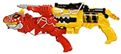 Unleash the power with the Power Rangers Dino Super Charge Morph Blaster Set! The T-Rex Super Charge Morph Blaster gathers its strength from the combination of the Dino Morphed and T-Rex Super Charge Morphed to form the ultimate battle gear i...