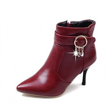 RTRY Women'S Boots Spring Fall Winter Platform Comfort Novelty Patent Leather Leatherette Wedding Office &Amp; Career Dress Casual Party &Amp; Evening US6 / EU38 / UK5 Big Kids u118GzJ8U