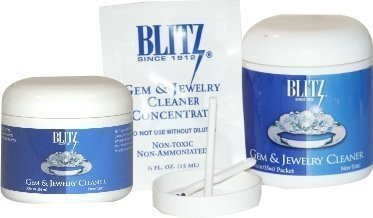 Jewelry Cleaner with Pouch (8 Oz Jar)