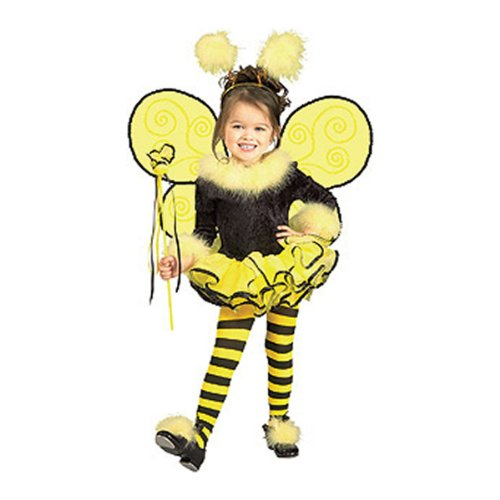 Bee Halloween Costume Toddler Bumble (Rubie's Child's Costume, Bumblebee Tutu)