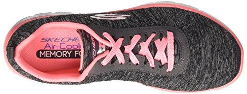 Outdoor bkcl 0 Donna Sportive 2 Appeal Flex Skechers Nero Scarpe 1qSHHw