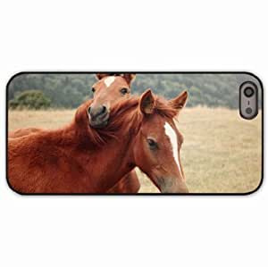 Case For Htc One M9 Cover Black Hardshell Case horse steam grass nature Desin Images Protector Back Cover