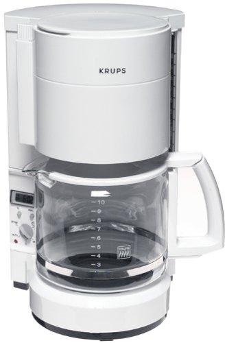Amazon.com: Krups 212 – 71 procafe Tiempo Cafetera, Blanco ...