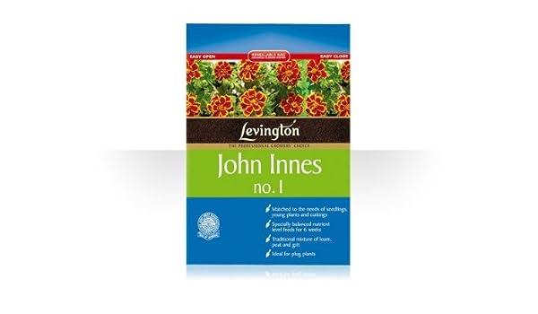 Levington John Innes nº 1 Compost 8 litros: Amazon.es: Jardín