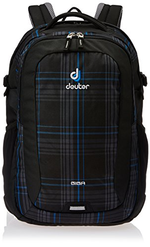 Deuter Unisex Rucksack Giga, blueline check, 46 x 31 x 23 cm, 28 Liter, 8041473090