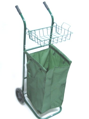 EDMBG PORTABLE GARDEN ROLLING YARD CART - FOR PRUNING, CL...