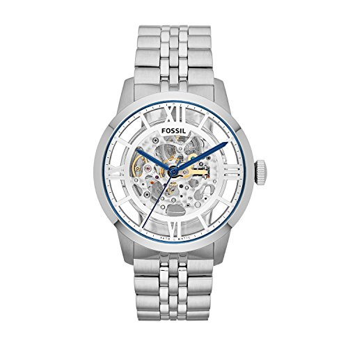 Fossil Men's ME3044 Townsman Automatic Stainless Steel Skeleton Watch