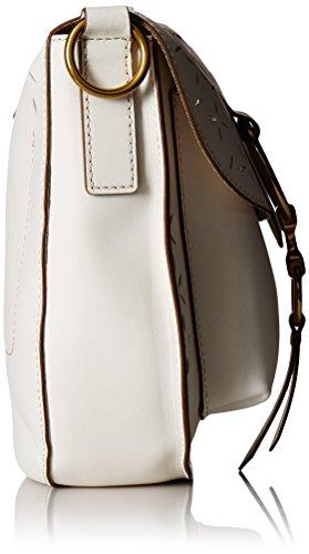 Perf White Veg Saddle Bag Oiled Crossbody FRYE Ilana 5fwTAA