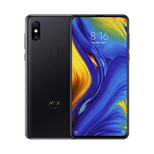 Celular Xiaomi Mi Mix 3 Dual Versão Global 128GB / 6GB, Preto