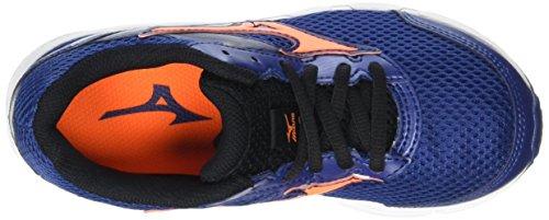 Mizuno Wave 12 Compétition Clownfish Black Bleu Blue Twilight Chaussures Running Jr de Garçon Inspire URZwRqA