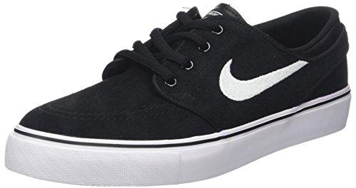 Nike Boy's Stefan Janoski (GS) Skateboarding Shoe Black/White-Gym Med Brown 6.5Y