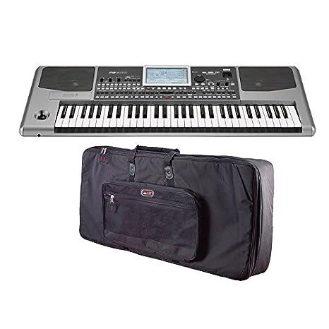 Korg pa900 arreglista teclado con ajuste personalizado funda de transporte)