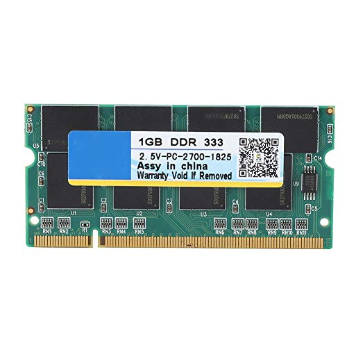 Laptop Memory DDR,1G 333MHz Laptop RAM for DDR PC-2700 Notebook Full Compatibility for Intel/AMD,1G Laptop RAM DDR with Circuit Module Board