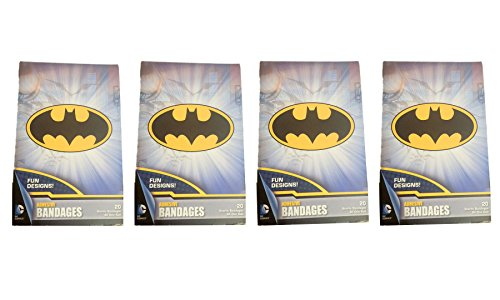 80ct Batman Adhesive Bandages! DC Comics