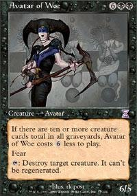 Magic: the Gathering - Avatar of Woe - Timeshifted