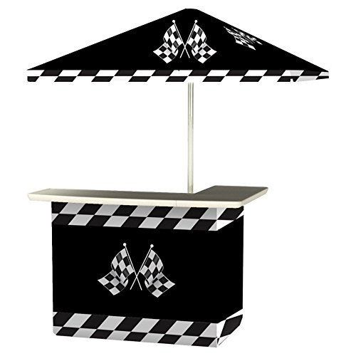 Nascar Race Packages (Best of Times Patio Bar and Tailgating Center, Standard Package, Racing Checkered Flag Design)