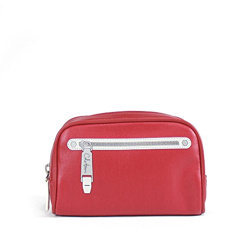 Cole Haan Item Group Cosmetic Case, Lantern Red